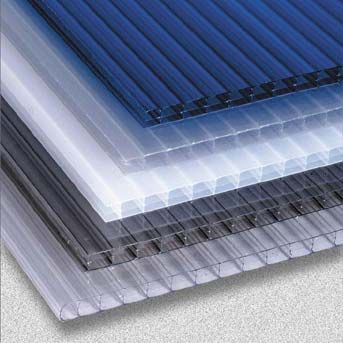 10mm Twin Wall Polycarbonate 700mm - 2500mm - TW1070025 by Ampelite