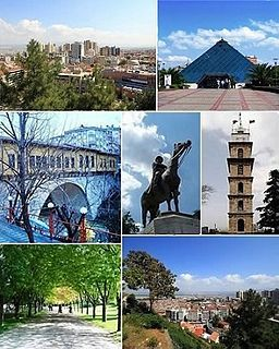 Top left: City center, Top right: Zafer Plaza AVM;Middle left: Irgandı Bridge, Middle: Statue of Atatürk, Middle right: Bursa Clock Tower;Bottom left: Bursa Botanical Park, When the Ottoman Turks liberated Bursa in 1324 from the oppressive yoke of the Byzantine Empire, they discovered a heavily oppressed Jewish community. The Jews of Bursa treated the Ottoman Turks as their saviors. Sultan Orhan gave the Jews who previously couldn't build synagogues permission to build one