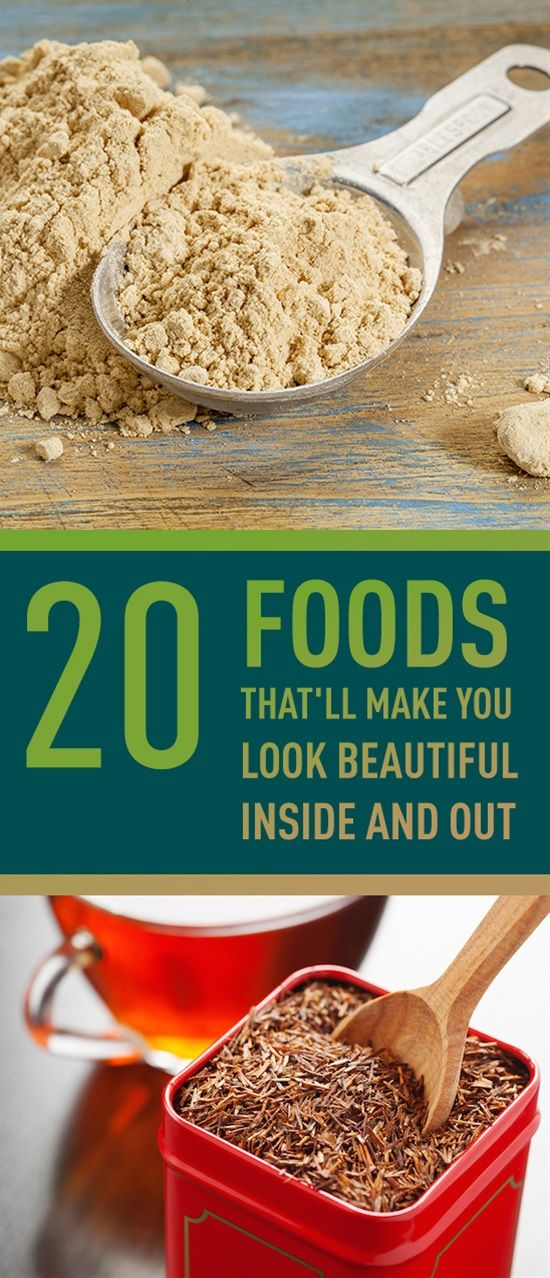 20 Foods That'll Make You Look Beautiful Inside and Out