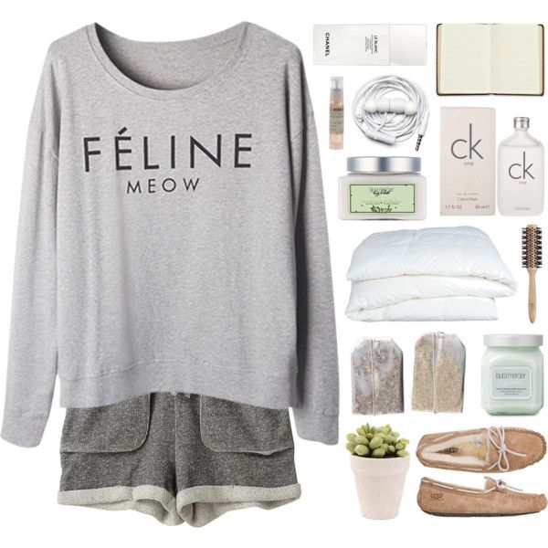 if he really cares by annamari-a on Polyvore featuring moda, Zoe Tee's, UGG Australia, Calvin Klein, Le Labo, Laura Mercier, Philip Kingsley, Crate and Barrel, Harrods and Urbanears