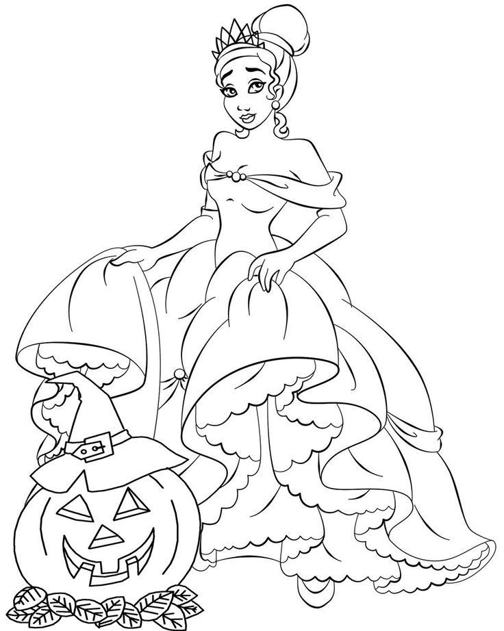 70 besten Princess Coloring Pages Bilder auf Pinterest ...