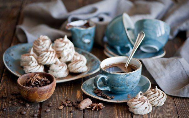 ☀️ С Добрым утром ☀️   Запахло свежемолотыми зернами — аромат, отделяющий день от ночи.