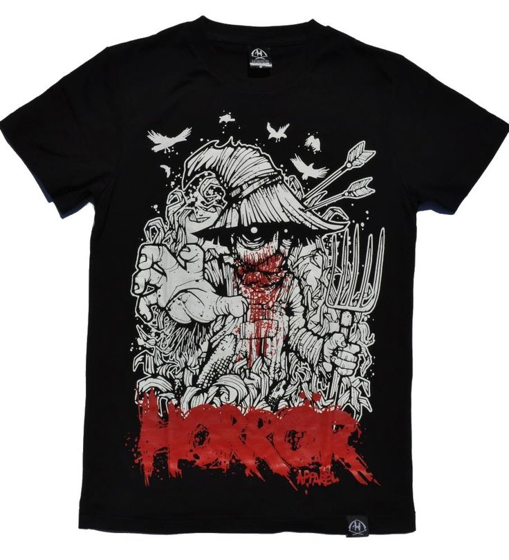 Brand new SCAREcrow T-Shirt. Now online!