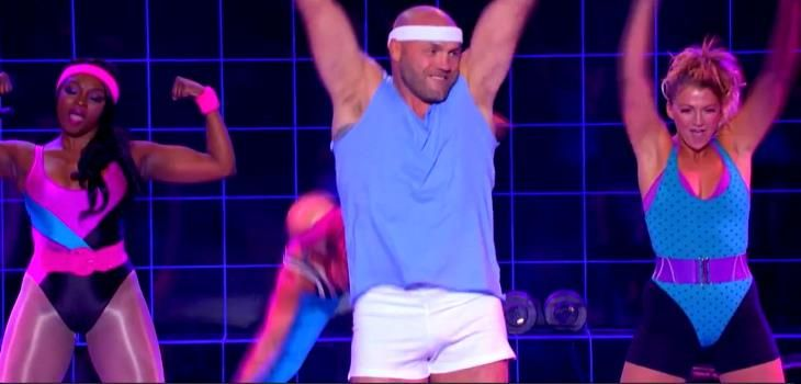 Lip Sync Battle – Randy Couture performs Olivia Newton-John's Song Physical