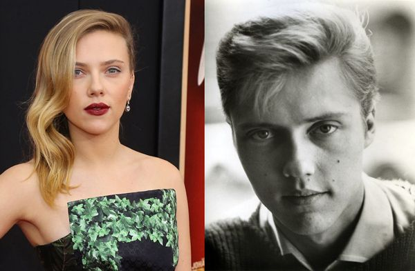 woah!  Scarlett Johansson and young Christopher Walken