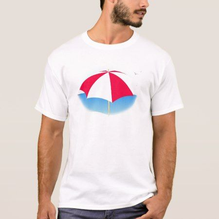 Beach Umbrella T-Shirt - tap to personalize and get yours