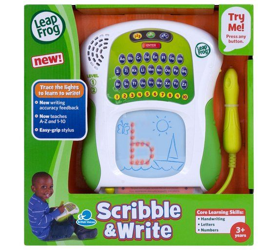 Buy LeapFrog Scribble and Write Kids Learning Game at Argos.co.uk, visit Argos.co.uk to shop online for Electronic learning toys, Electronic toys, Toys