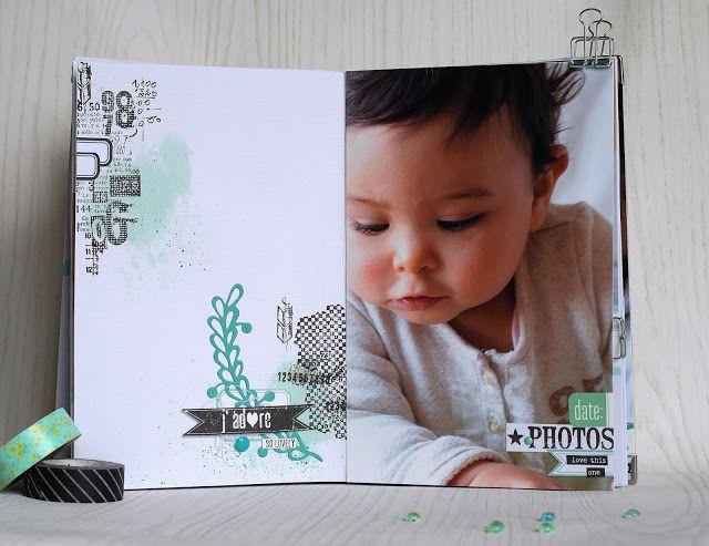 """Mini'mum: Mini album """"Défi créér vos fonds de pages"""" par Opsite"""