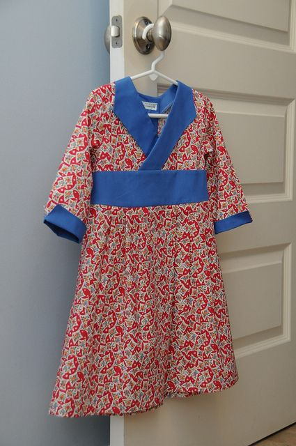 Oliver and S Library Dress