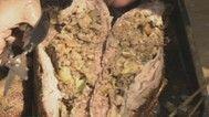 Stuffed Roasted Duck (anatra arrosto ripiena)