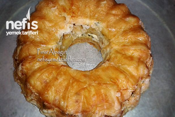 Kek Kalıbında Yalancı Su Böreği