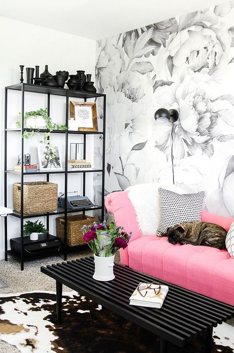 25 Best Ideas About Pink Office On Pinterest Pink