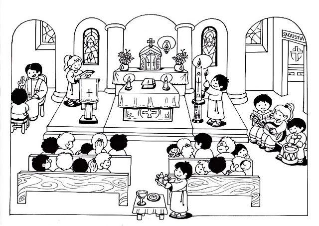 PARROQUIA SAGRADA FAMILIA: LA MISA DE LOS NIÑOS
