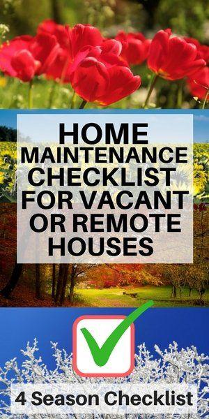 Best 25 Home Maintenance Checklist Ideas On Pinterest