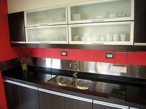 Cocinas de melamina buscar con google cocinas for Muebles el uruguayo