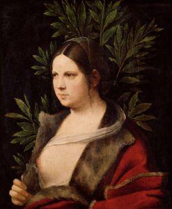 Giorgione, Laura, 1506, Kunsthistorisches Museum, Vienna