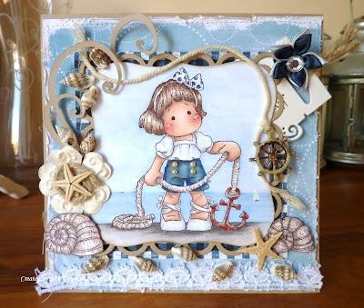 Tilda Unanchor, Summer Memories Collection, Magnolia stamps