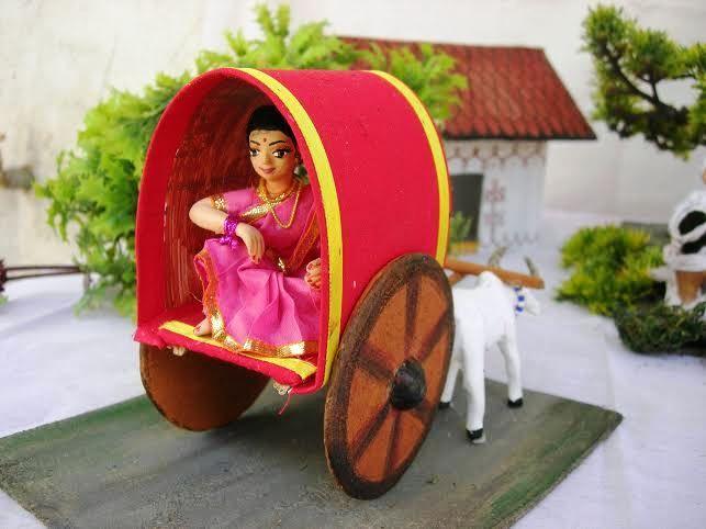 Lady Bullock Cart