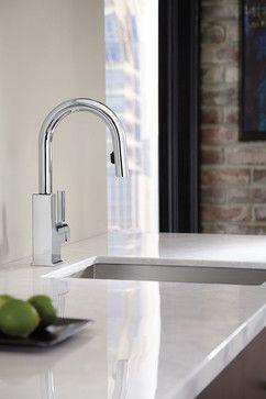 Moen - STO High Arc Bar Faucet - modern - kitchen faucets - other metro - Moen Inc.