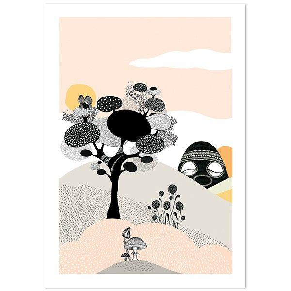 Plakat fra MiniEmpire - Talking Tree - A3