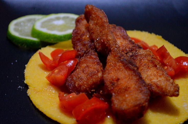 Direttamente dalla cucina messicana...i tacos di pesce fritto! DELIZIOSI @gialloblogs