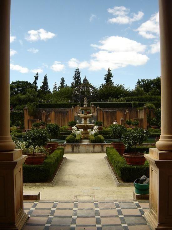 "flowersgardenlove: ""italian gardens Beautiful """