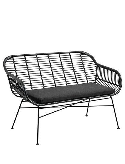 Gartenbank Von Nordal Oder Kompaktes Sofa Im Rattan Look Ganz Egal