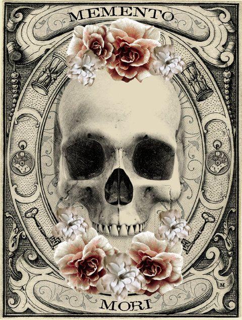Gothic Bracelet - Memento Mori Bracelet - The Second Circle - Dante's Inferno…