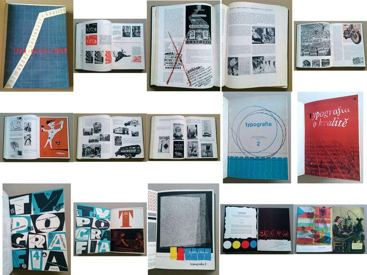 Czech typography printing magazine TYPOGRAFIA 1950-1951