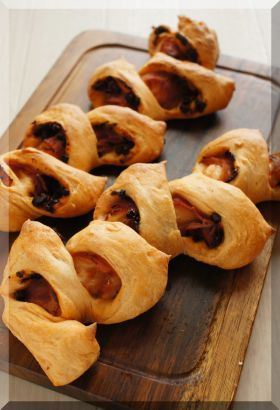 「* ポモドーロ no ベーコンエピ♪」cherry♪ | お菓子・パンのレシピや作り方【corecle*コレクル】
