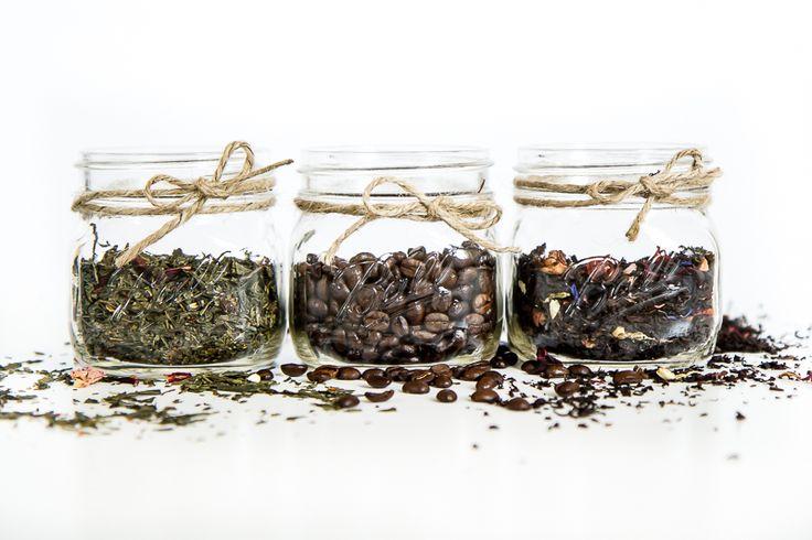 Przechowywanie naszej ulubionej kawy lub herbaty w słoiczkach firmy Ball Elilte 16 oz