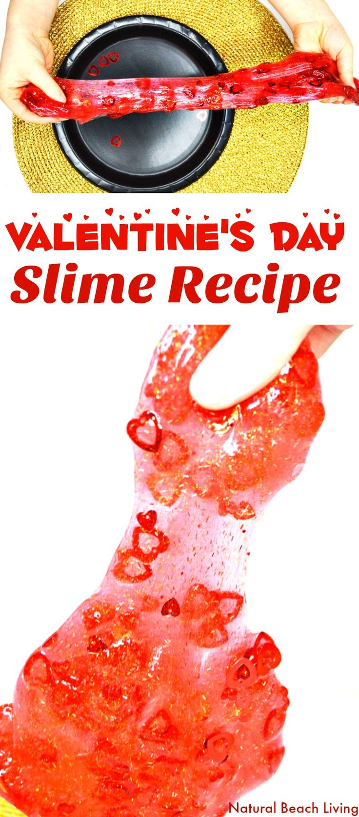 The Best Valentine's Day Slime Recipe, Easy Slime with Contact Solution, Fun Glitter Slime perfect for Valentine's Day, Slime Recipe with glue, Slime recipe without Borax, Best Slime Recipe, Homemade Slime, Holiday Slime, Slime Recipes, Sensory Play, Slime Videos, Valentine's Day Activities, Non Candy Valentine's, #Valentinesday #Slime #slimerecipe #slimerecipes #sensoryplay