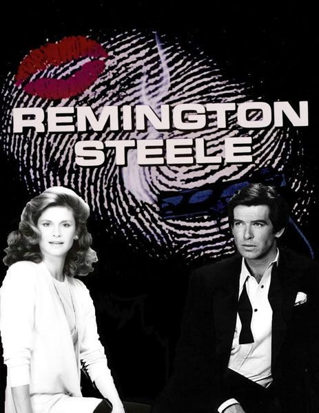 Remington Steele (1982-1987) with Pierce Brosnon, Stephanie Zimbalist, Doris Roberts and James Reed