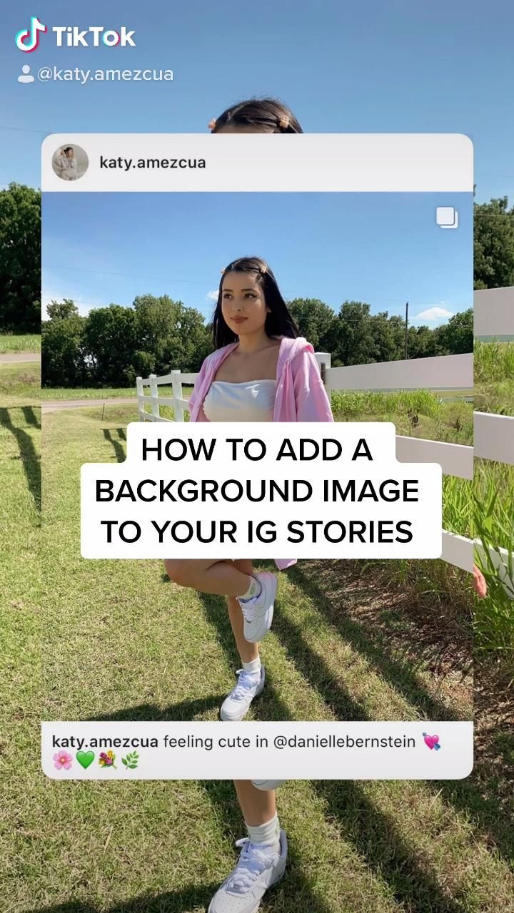 Video How To Add A Background Photo To Instagram Stories Cerita Instagram Instagram Pengeditan Foto