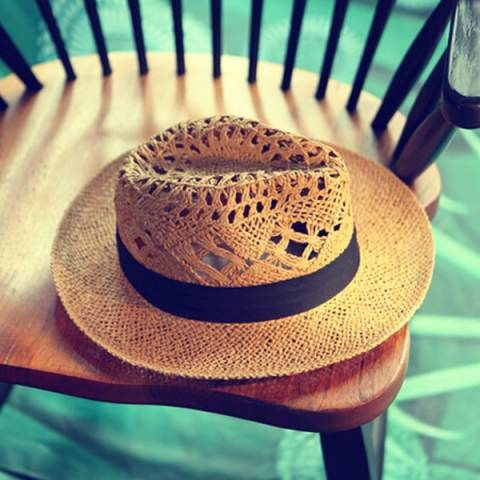 Hollow ladies panama hats for sale summer straw sun hat UV