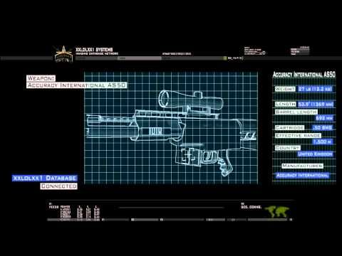 Modern Warfare 2 mission briefing with after effects (HD)