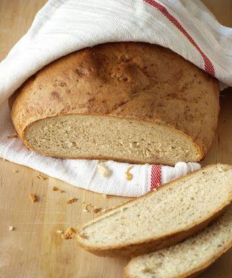 CHEZ LUCIE: Kmínový chléb z podmáslí