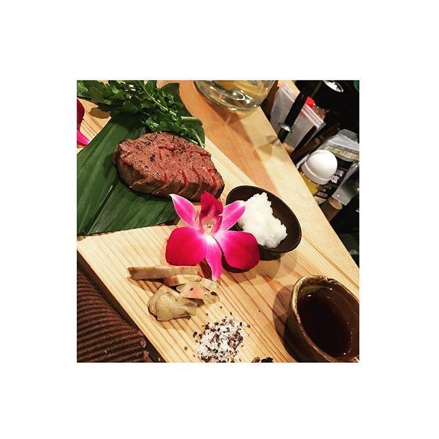 昨日は贅沢いただきました。 #侍 #samurai #肉 . オーナーシェフの @kazoolkazuaki  さんは 外でもどこでも新鮮なもん パパパーッて。凄いなぁていつもおもう。 . #肉 #最高 #新鮮 #美味しすぎ #あん肝 #最高 #グロい食べもん大好きです #やっぱ生やろ #Nac #79 #DJ #osaka #Instagram #l4l #me #happy  #japan  #instagood #instalife #Instagram #ご馳走様さまでした