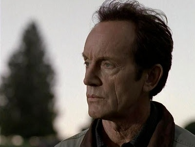 "Lance Henriksen as Frank Black in ""Millennium"" (1996)."