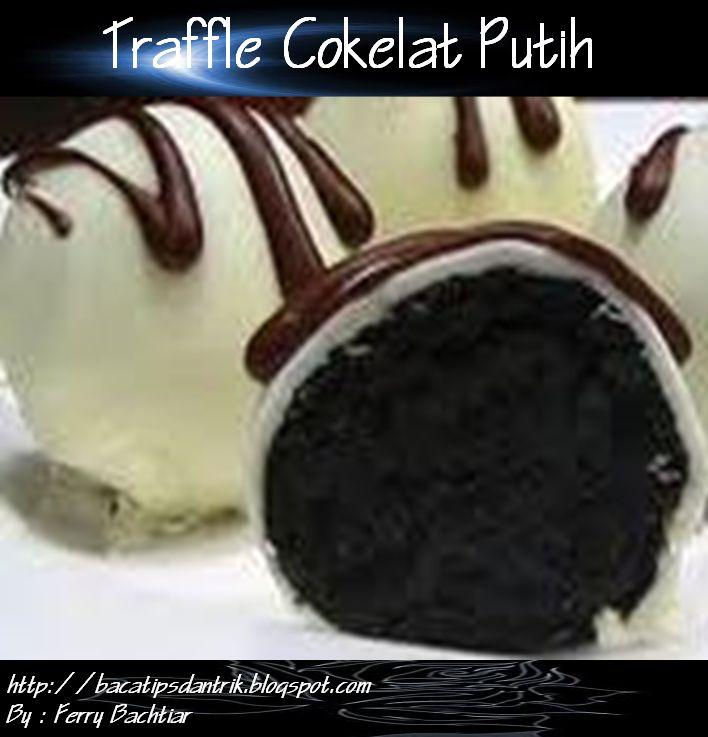Truffle Cokelat Putih