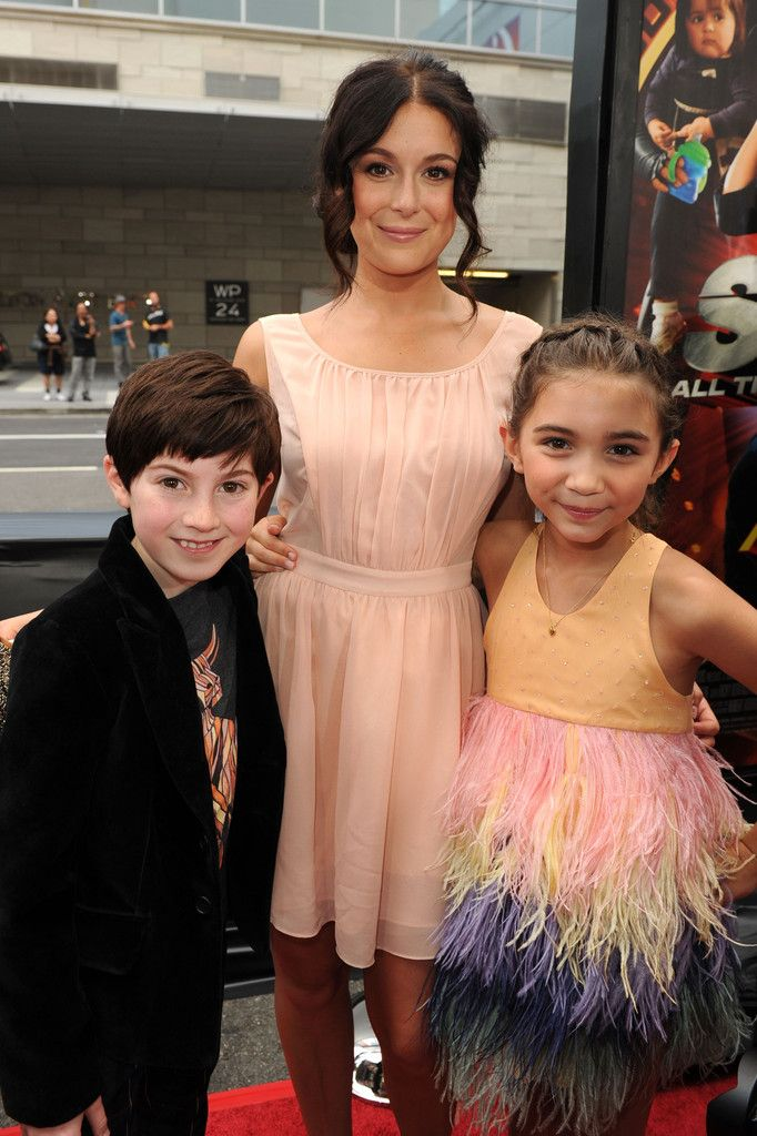 Mason Cook, Alexa Vega, and Rowan Blanchard - Premiere Of Dimension Films Spy Kids: All The Time In The World 4D - Red Carpet