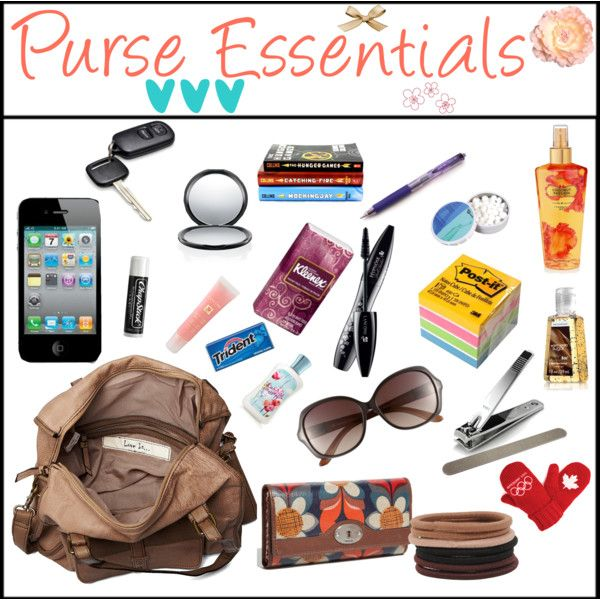 25+ best ideas about Purse essentials on Pinterest ...