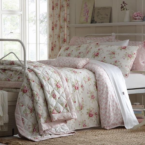 Dorma Pink Elsie Collection Duvet Cover