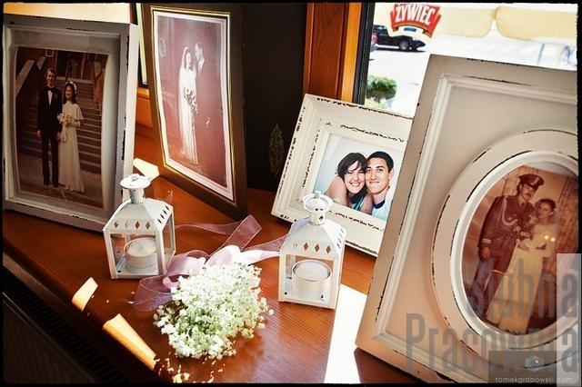 kącik wspomnień wesele