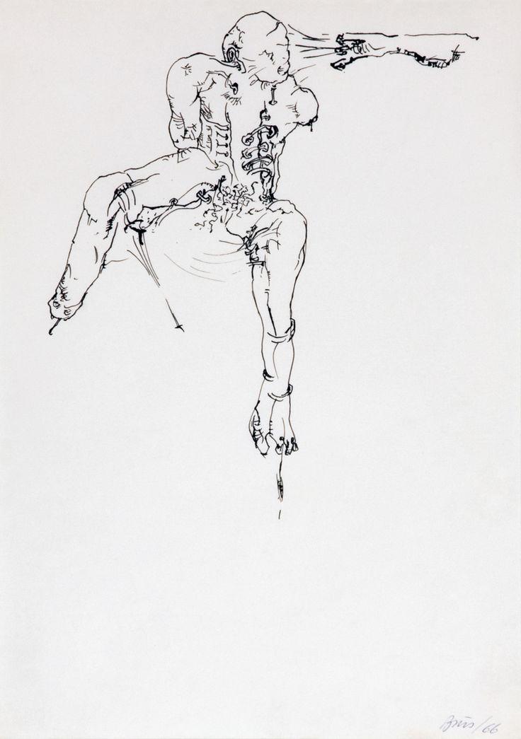 Günter Brus, untitled, 1966