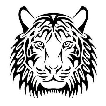 tribal tiger tattoo drawings | Tiger Tattoos, Tattoo Designs Gallery - Unique Pictures and Ideas