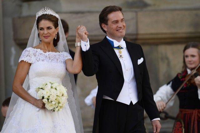 8 giugno 2013 – La principessa Madeleine di Svezia e Christopher O´Neill.
