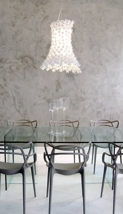 Master by Philippe Starck and Bloom By Feruccio Laviani | Soft living. Pic from Curitiba - Brazil  CHairs