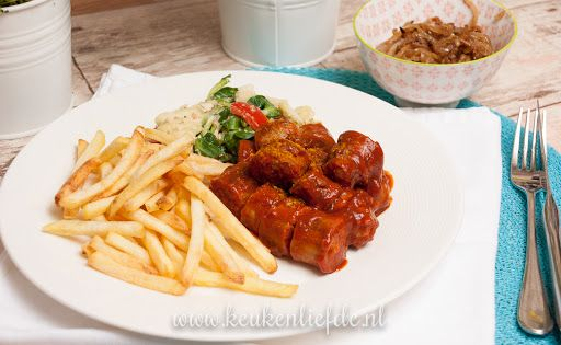 Duitse curryworst - recept Currysaus