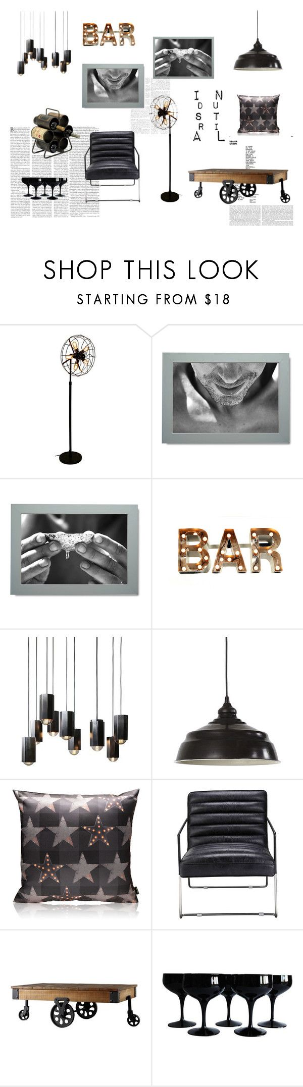 Set inspired by black metals and industrial style. Sit down and enjoy your home bar! Bold black and white wall decor set with man portrait, perfect for minimal or industial style interiors. #wallart #bar #blackandwhite #industrial #walldecor #gallerywall #gallerywallideas #livingroom #gallerywallart